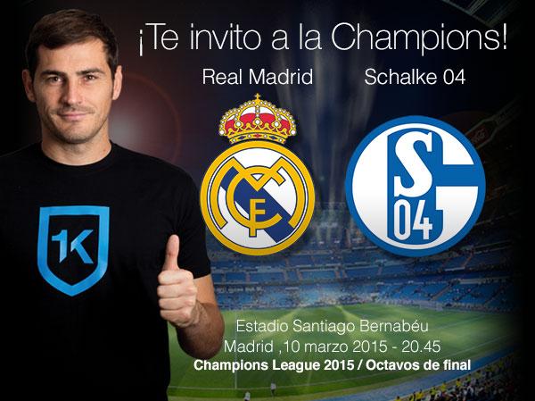 Gana 2 entradas para el partido de Champions