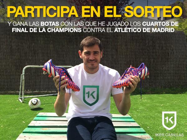 Gana las botas de Iker usadas en el partido contra el At. Madrid