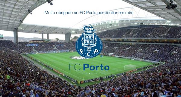 Feliz de começar esta nova etapa #SomosPorto